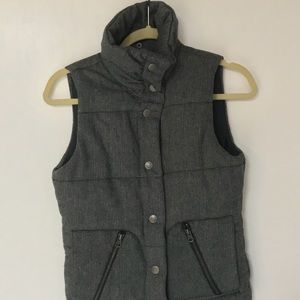 B.B. Dakota grey winter vest